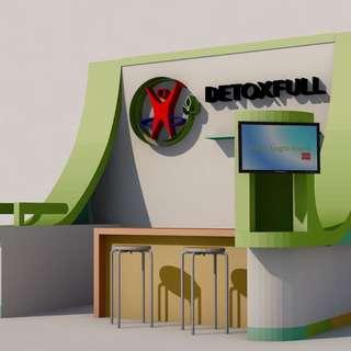 Jasa desain dan pembuatan booth