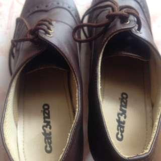 Sepatu heels model tali