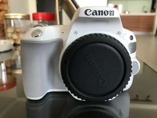 Canon EOS 200D (White) EF-S 18-55 IS STM + 32GB + Canon Camera Bag