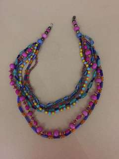Colorful Studs Necklace