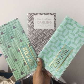 Get 3 Travelers Notebook for 170