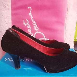 Sepatu kerja heels 5cm