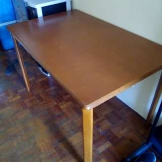Wooden Dining Table for 4