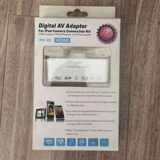 Digital AC Adapter for ipad camera connection kit