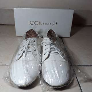 🎆FREEONGKIR Iconienty oxford white shoes
