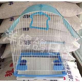 《小型》半弧形屋頂鳥籠、觀賞鳥籠、鸚哥鳥籠、文鳥鳥籠、牡丹鳥籠