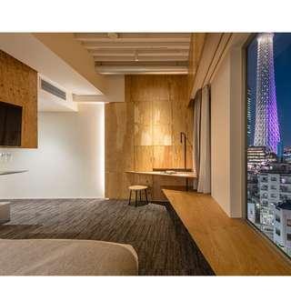 ONE@TOKYO 東京壹酒店 兩晚雙人高層豪華房住宿連雙人早餐入住劵 Two nights LOFT room accommodation voucher (with breakfasts)