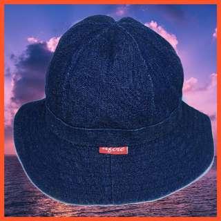 🚚 AFIRE 圓頂 雙面 漁夫帽 迷彩 丹寧 牛仔