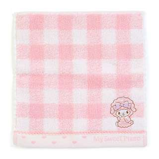 Japan Sanrio My Sweet Piano Petit Small Towel Handkerchief (Check)