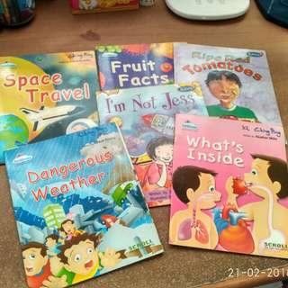 Preschoolers NA / K1 / K2 readers