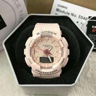 Step tracker GMA-S130.Japan OEM with autolight.waterproof automatic step counting, This new model also fit for women because of the unisex look and the midsize,especially the color pink and color blue.. P1600  set