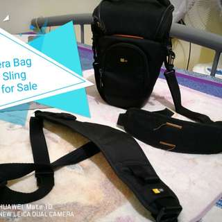 Case Logic Camera Bag and Sling Strap