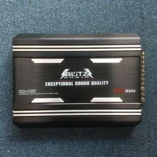 2rd Hand 4 ch Amplifier