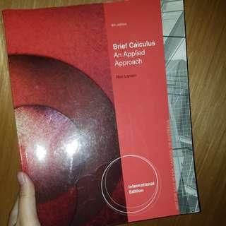 Brief Calculus 9th 微積分 九版
