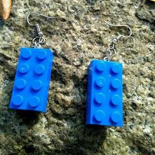 Handmade Lego Earring