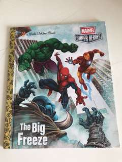 The Big Freeze - Marvel Heroes - Little Golden Book