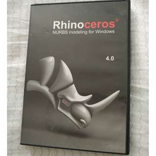 Rhino 4 3D design software for sale