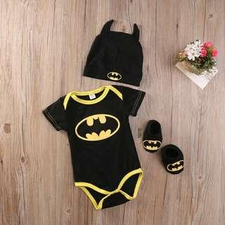Baby Batman Romper