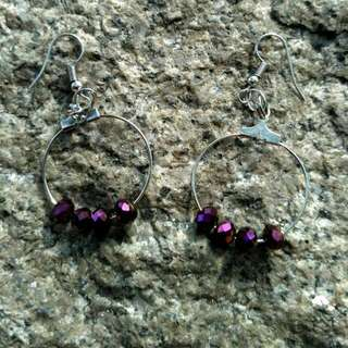 Purple Dream Earring