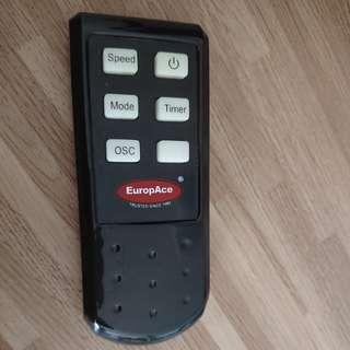 Europace Fan Remote Control - ESF616P