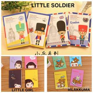 10 pcs MINI Notebook