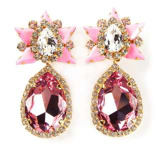 Shourouk @ Liger Galaxy Clip-on Earrings Jewellery