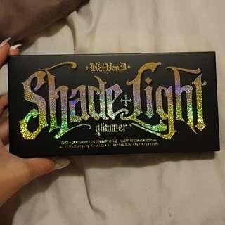 shade + light glimmer eye palette