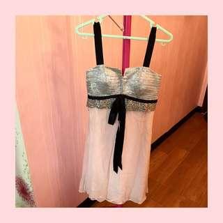 korean glamour party dress