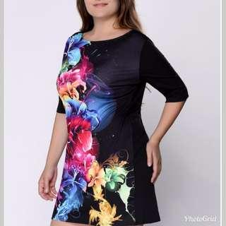 Summer Women Casual Black Dress