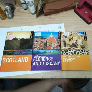 Aa pocket guide - scotland, florance and tuscany , egypt