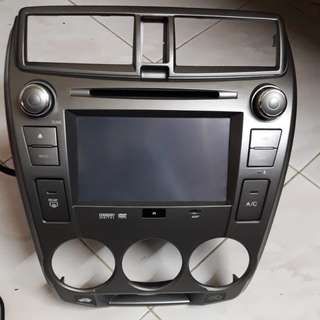 Honda city TMO DVD player