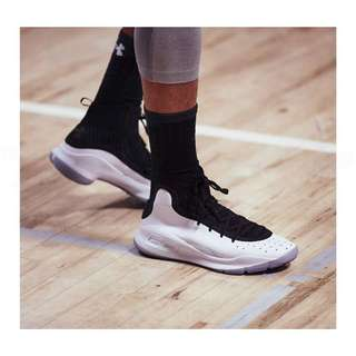 Under Armour Curry 4 Black/White US11 Up
