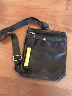 Black & yellow bag (9x11 inches)