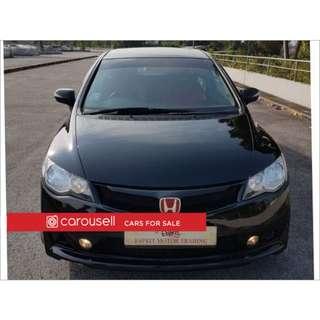 Honda Civic 2.0A (COE till 03/2021)