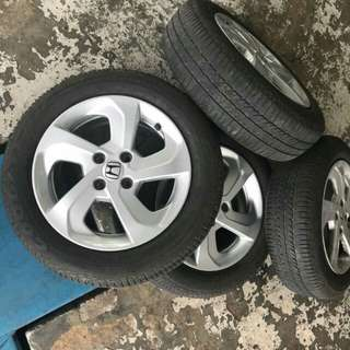 Original rim honda city