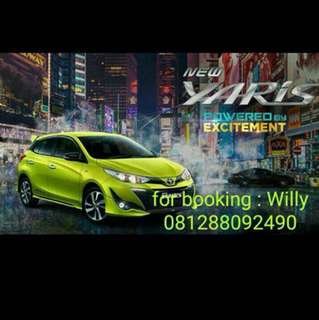 PROMOTE - TOYOTA YARIS NEW
