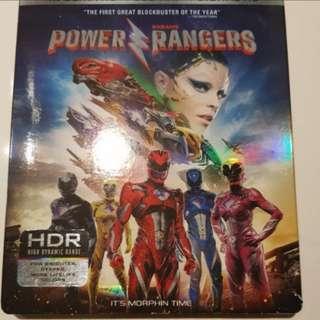 Power Rangers 4K UHD Blu Ray Disc