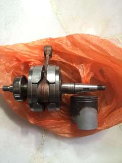 KRR Crankshaft, Conrod, Piston
