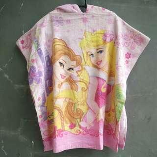 Handuk baju - motif princes #MakinTebel