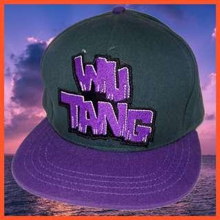 Wu Tang 塗鴉字體 正版 棒球帽 snapback 稀有 武當幫