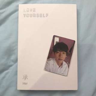 [Free postage] BTS LOVE YOURSELF
