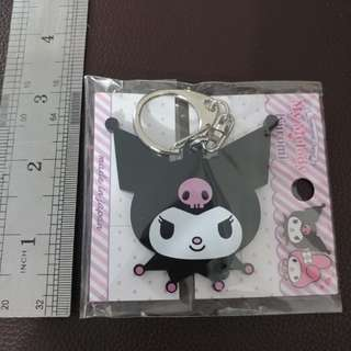 Kuromi 頭造型 匙扣 吊飾 MADE IN JAPAN 包平郵