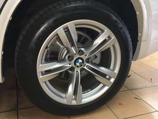 "BMW X5 40e 2017 F15 19"" Rims Inclusive of Tyres"