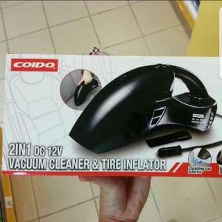 Car Tyre Inflator + Vacuum