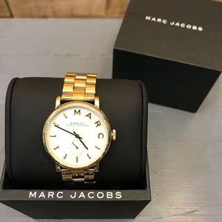 Marc Jacobs gold oversized watch
