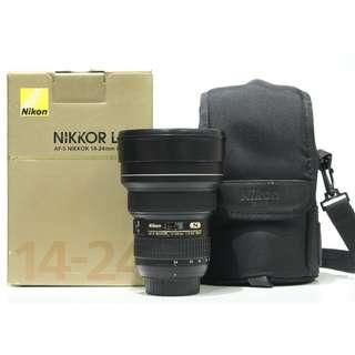 Nikon AF-S 14-24mm f2.8G ED Lens