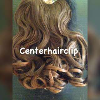Hairclip curly 45cm