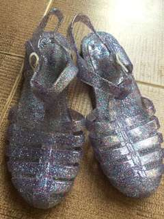 Jelly shoes by rubi