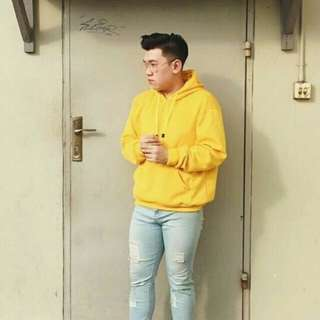 BARU Sweater yellow cw/cwo oversize