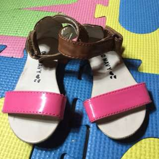 Baby sandals 1-2 yrs old once used original